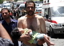 Syria Man & Child!!!