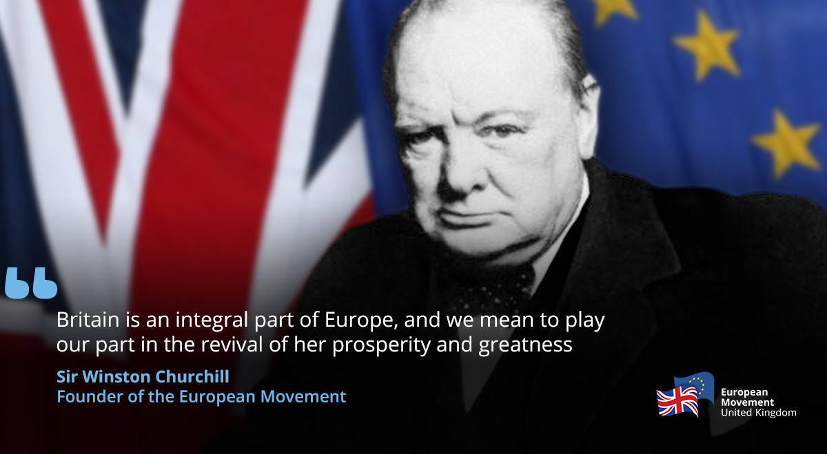 Churchill founding father of Europe!!!