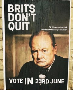 Winston Churchill founder of the European Union & Human Rights Act...